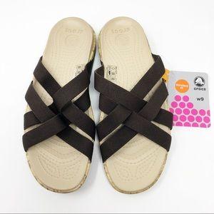 New Crocs Edie Criss Criss Sandals